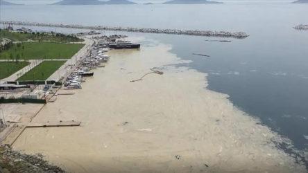 Bandırma'da müsilaj denetimlerinde bir sanayi tesisine geçici kapatma
