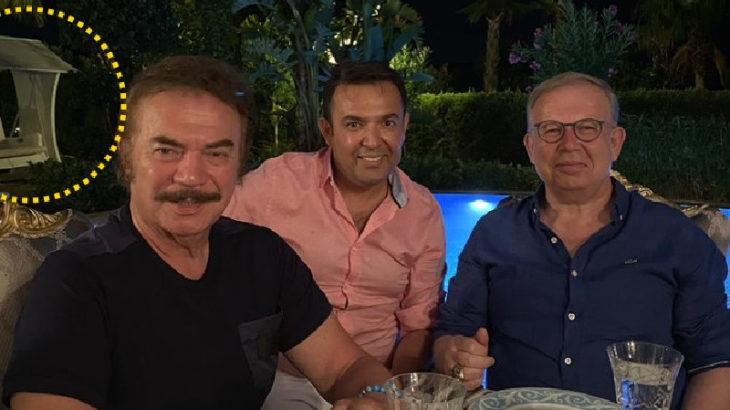 Cihat Yaycı, Orhan Gencebay ve Tahir Sarıkaya ile birlikte Paramount Hotel'de tatil yapmış