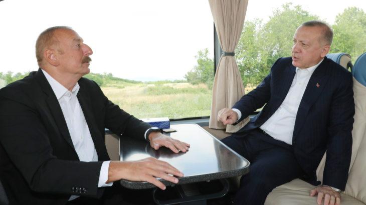 Erdoğan'la Aliyev arasında Cengiz-Kolin diyaloğu: Onlar her yerde!