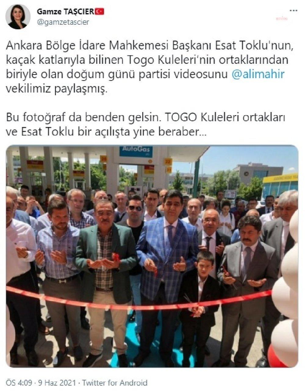 Esat Toklu ve TOGO Kuleleri ortakları yine bir açılışta beraberler