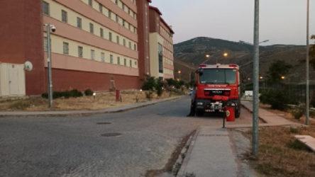 Geri Gönderme Merkezinde yangın: 1 sığınmacı hayatını kaybetti