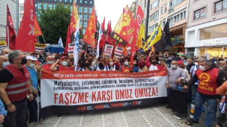 HDP'li Deniz Poyraz'ın katledilmesi Kadıköy'de protesto edildi
