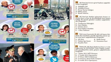 İnkılap tarihi dersi, 'AKP tarihi' dersi oldu: Gezi, MİT tırları, 15 Temmuz...