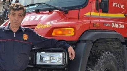 Ankara'da iş cinayeti: 57 yaşındaki itfaiye eri yaşamını yitirdi