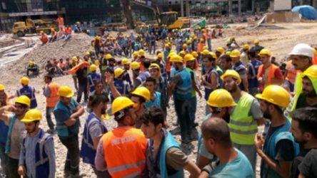 Katar'da eylemde olan inşaat işçileri, haklarını alarak memlekete dönmek istiyor