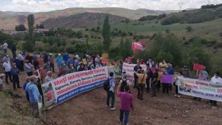 Maden talanı bu kez Malatya'da: Köylüler izin vermiyor