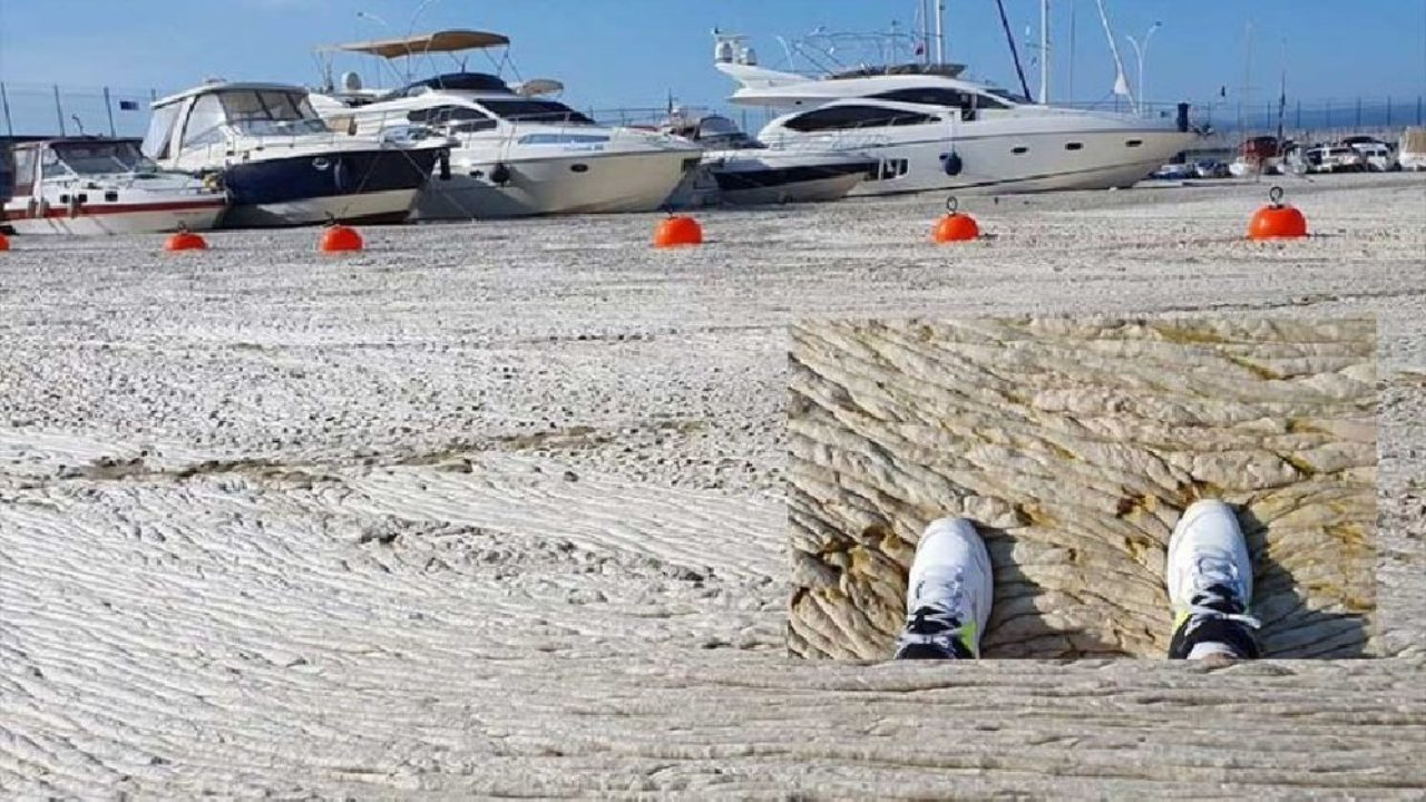 Marmara Denizi'nde korkuç görüntü: Müsilaj adeta beton gibi sert bir hal  aldı | Gazete Manifesto