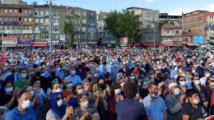 Kırıkkale'de kitlesel