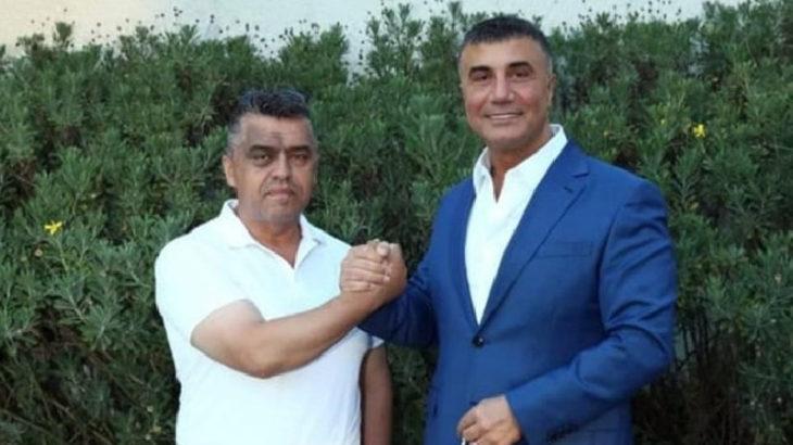 MHP'li başkan Sedat Peker'le fotoğrafını paylaştı