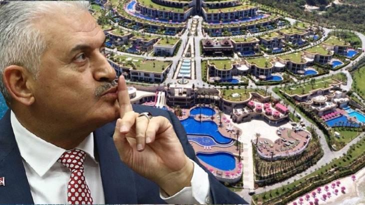 AKP'li Binali Yıldırım da Paramount Otel'de kalmış