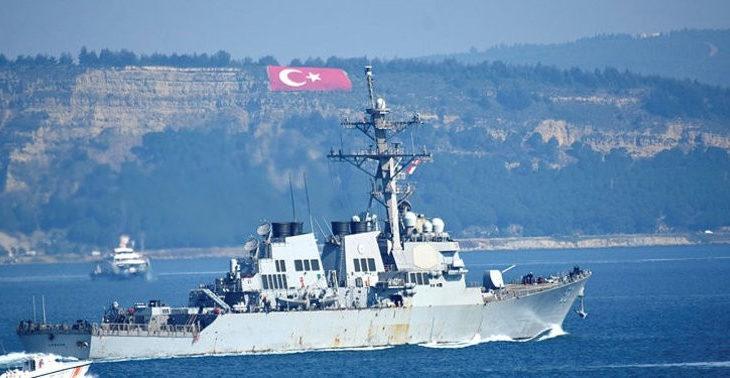Rusya Savunma Bakanlığı: Karadeniz'e giren ABD savaş gemisini takibe aldık