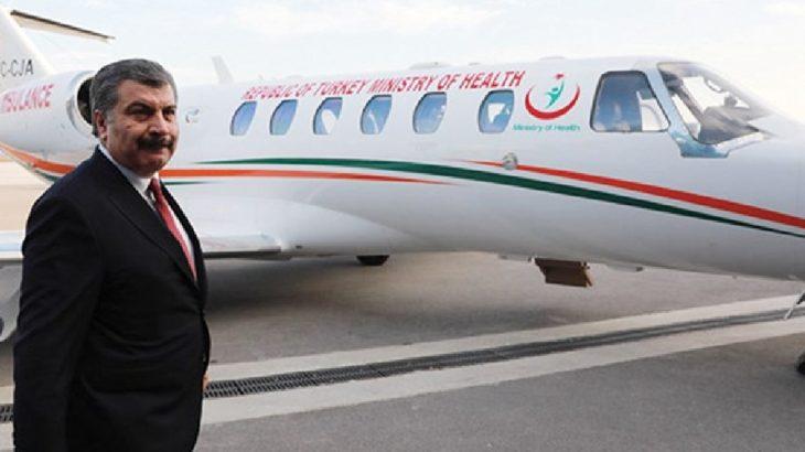 Salgın tüm hızıyla devam ederken Sağlık Bakanlığı'ndan Katar'lı şirkete 55 milyon TL'lik 'garantili uçak' ihalesi