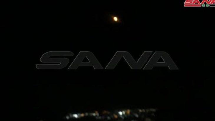 SANA duyurdu: İsrail'den Suriye'ye hava saldırısı