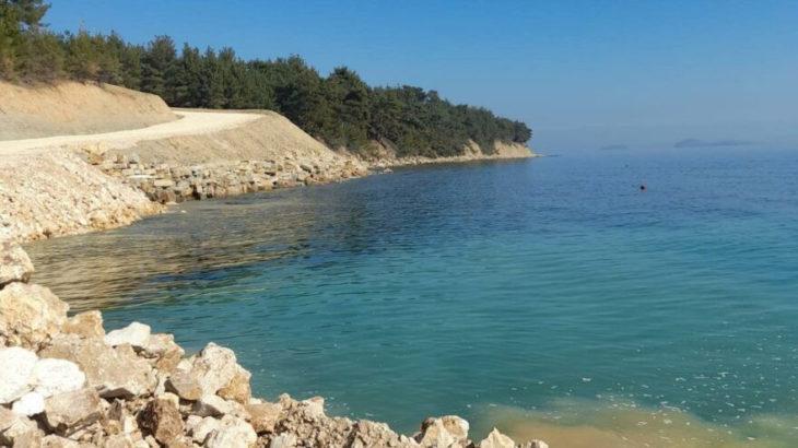 Saros kıyıları yağmaya açılıyor
