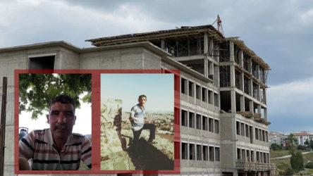 Okul inşaatında iş cinayeti: 47 ve 51 yaşındaki iki kardeş hayatını kaybetti