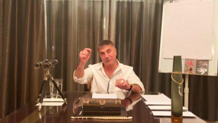 Sedat Peker, gazeteciyi tehdit ettiğini doğruladı: Buradan çok suç çıkar