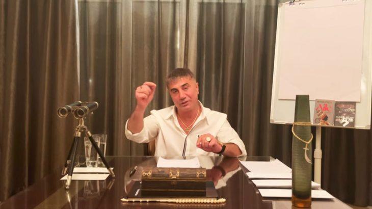 Sedat Peker, yeni videosunda Süleyman Soylu'ya seslendi