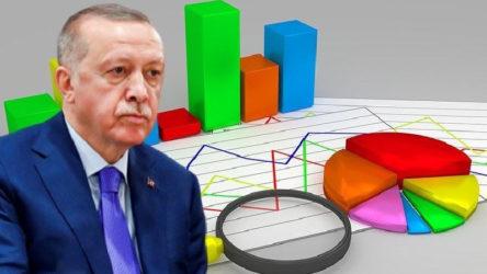 Son seçim anketine göre AKP'nin oyları yüzde 26,2'ye kadar geriledi