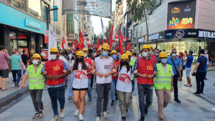 Yasaklar işçilerin sesini dindiremedi!