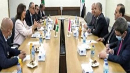 Suriyeli bakanlar 10 yıl sonra Ürdün'de