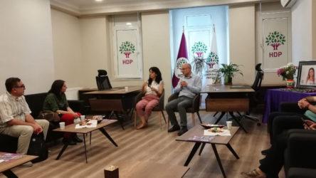 TKH'den HDP'ye dayanışma ziyareti