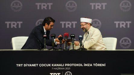 Gerici protokol imzalandı: 'TRT Diyanet Çocuk Kanalı' kuruluyor