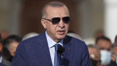 Erdoğan bayram namazı sonrası konuştu: Oğuzhan Beyi Kıbrıs Barış Harekatında...
