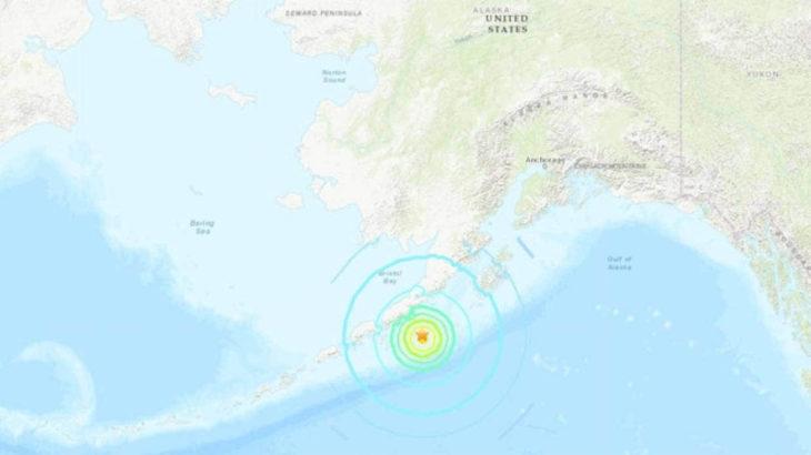 Alaska Yarımadası'nda 8,2 büyüklüğünde bir deprem meydana geldi: Tusunami uyarısı