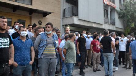 EnerjiSA işçileri Tes-İş Genel Başkanını protesto etti