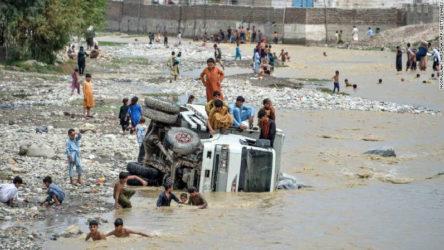 Afganistan'da sel felaketi, can almaya devam ediyor!