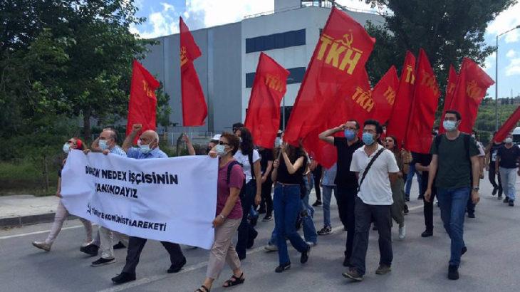 TKH, Nedex Kimya işçileriyle buluştu: Yaşasın sınıf dayanışması