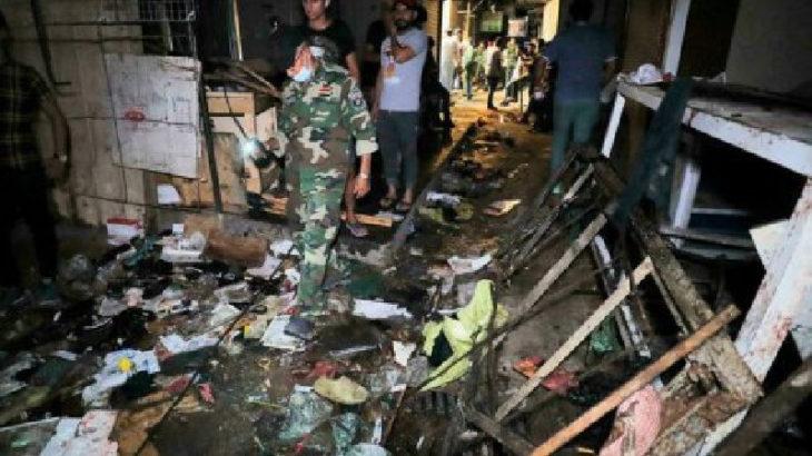 Bağdat'ta gerçekleşen saldırıyı IŞİD üstlendi