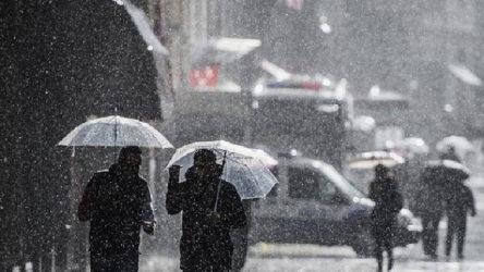 İstanbul ve bölgenin doğusunda sağanak yağış beklentisi