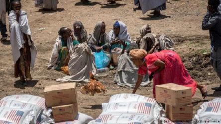 Etiyopya'da 400 bin insan kıtlık çekiyor