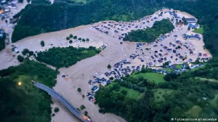 Almanya'da yaşanan sel felaketinde yaşamını kaybeden kişi sayısı 171 'e yükseldi