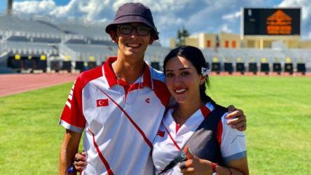 Mete Gazoz ve Yasemin Ecem Anagöz, karışık takımda Tokyo 2020'yi 4. tamamladı