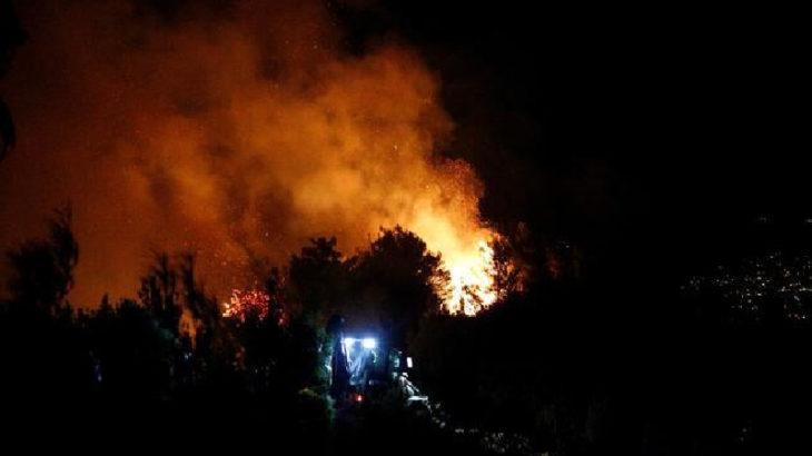 Hatay yanıyor:  Evler tahliye edildi