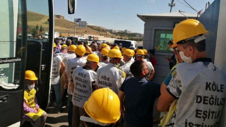 Somalı maden işçilerinin yolu Ankara'ya girişte kesildi