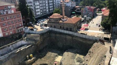 AKP'li belediye tarihi eserlerle dolu alanda otopark projesi için patlayıcı kullandı