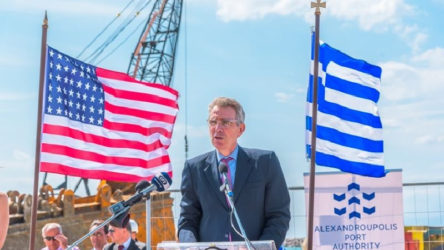 ABD istedi: NATO Dedeağaç'a uzanacak hattı fonlayacak