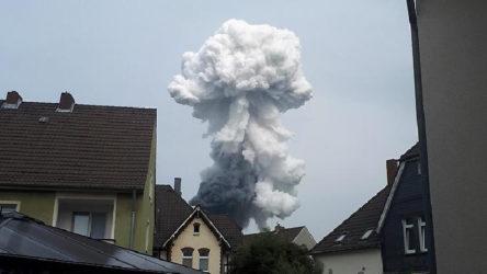 Almaya'da kimya tesisinde büyük patlama: Ölü ve yaralılar var