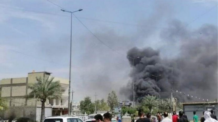 Bağdat'ta patlama: Çok sayıda ölü ve yaralı