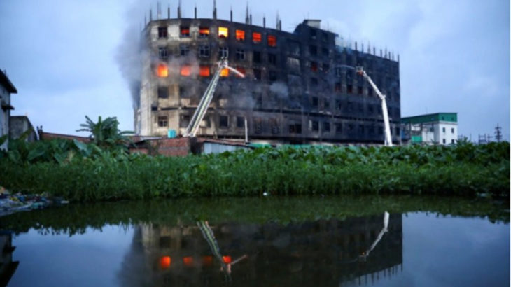 Bangladeş'te büyük yangın: Onlarca kişi hayatını kaybetti