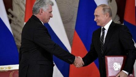 ABD'nin insanlık dışı abluka uyguladığı Küba'ya Rusya'dan insani yardım