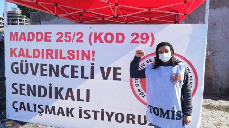 Sinbo direnişçisi, Kod-29'a karşı Ankara'ya yürüyecek