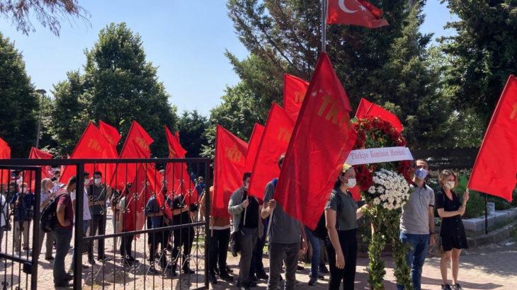 DİSK'in Kurucu Genel Başkanı Kemal Türkler mezarı başında anıldı