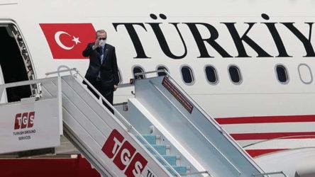Erdoğan'la birlikte Kıbrıs'a giden siyasiler