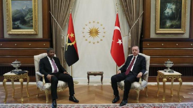 Erdoğan: Angola ile ticaret hacmi hedefimiz ilk etapta 500 milyon dolar