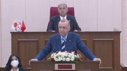Erdoğan'dan Kıbrıs açıklaması: Artık bizim için 'kuzey-güney' yoktur