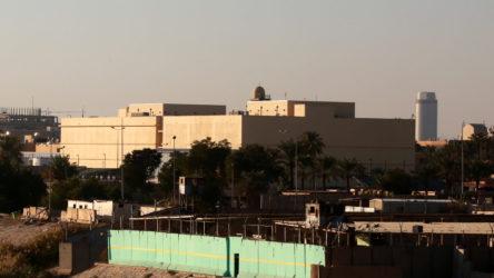ABD büyükelçiliği üzerinde uçan silahlı insansız hava aracı vurularak düşürüldü